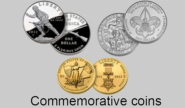 United Sates commemorative coins