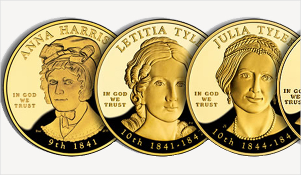 First Spouse gold coins of the United States