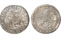 Wilhelm V Taler 1637 Silver Coin that bear God's name